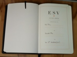 ESV Study Bible 03 - Dedication Page